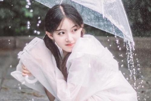 下雨天对女生关心的话,暖到她心里第1张