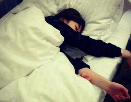 女生说不好意思昨天晚上睡着了,该怎么回第1张